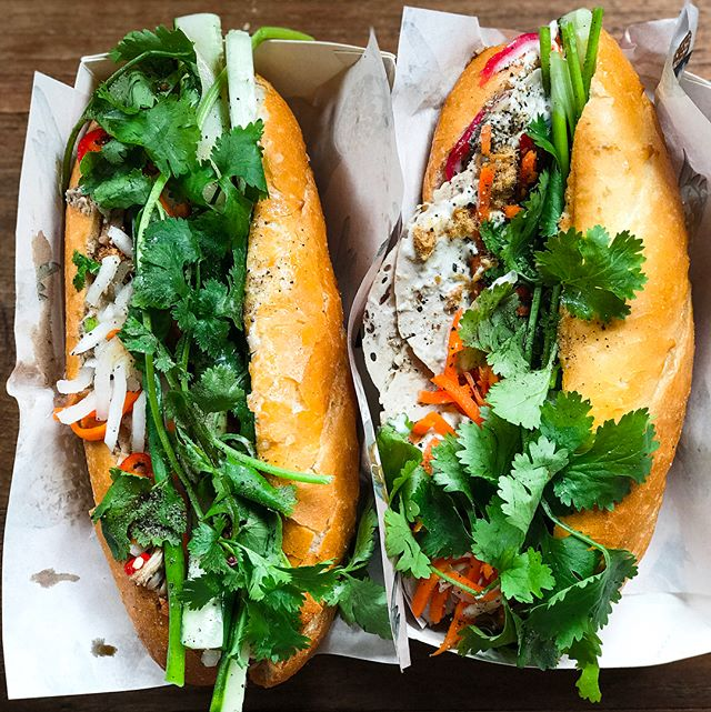 Park Bench Deli X Le Garçon Saigon Pop Up - ACAMASEATS & GTK💮: Banh Mi Thit (💵S$16) A Classic Vietnamese Banh Mi that temporarily transported me back to the days I backpacked Vietnam.