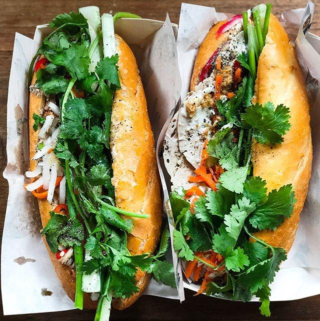 Park Bench Deli X Le Garçon Saigon Pop Up - ACAMASEATS & GTK💮: Banh Mi Thit (💵S$16) A Classic Vietnamese Banh Mi that temporarily transported me back to the days I backpacked Vietnam.
