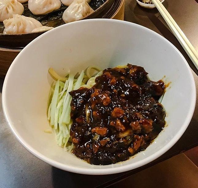 Noodle Man 蘭州拉面 - Minced Pork w/Bean Sauce Noodle (💵S$6.80) .