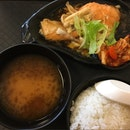 Salmon, Mushroom & Kimchi