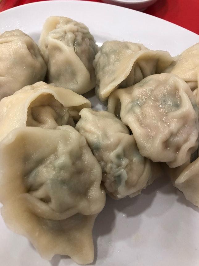 Pork & Seafood Dumplings