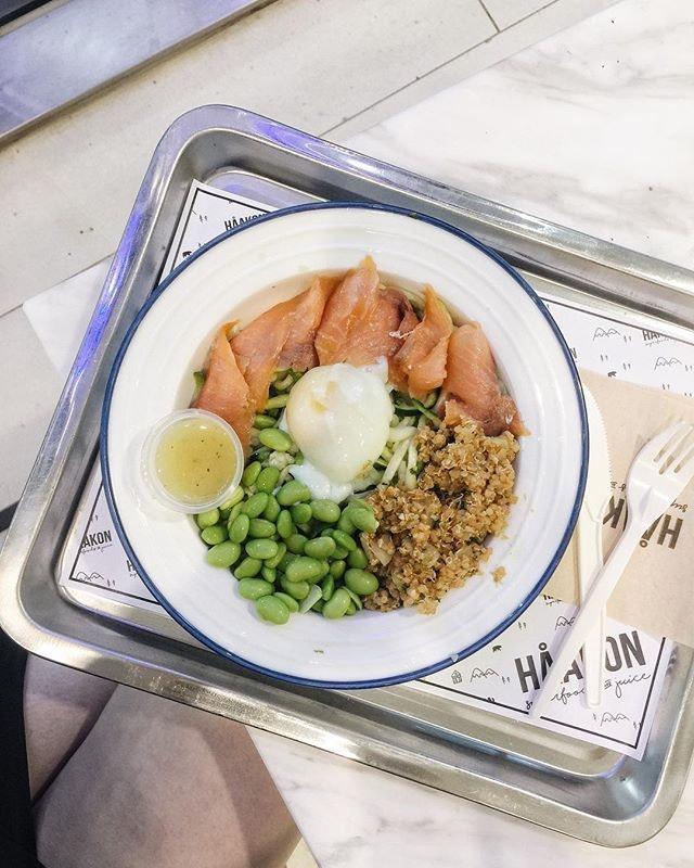 Tried customising my own salad for lunch the other day @haakon.sg  #sgfood #sgfoodies #burpple #instafood_sg #sgcafe #healthyfood  #iphoneonly #おいしい  #foodvsco #f52grams #eeeeeats #huffposttaste #onthetable #buzzfeast #forkyeah #getinmybelly #food52 #feedfeed #lovefood #tastethisnext #eattheworld #foodandwine #healthyeating #feedyoursoull #eatfamous #tastingtable #bestfoodworld #beautifulcuisines #dailyfoodfeed