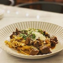 Beef short rib pasta at newly-opened @elevenstrands somewhere in the YCK hood.
