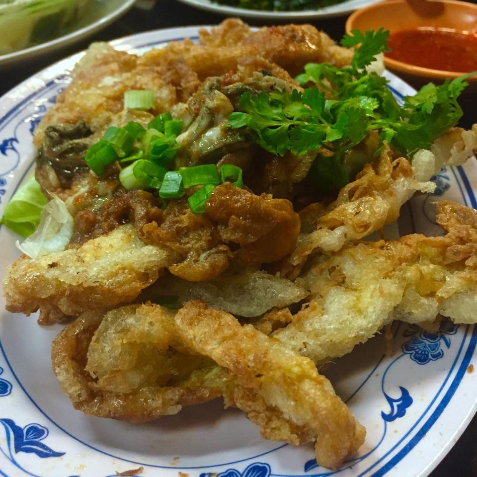 Orh Luak (Fried Oyster)