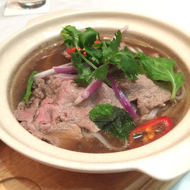 Wagyu Beef Pho ($24)
