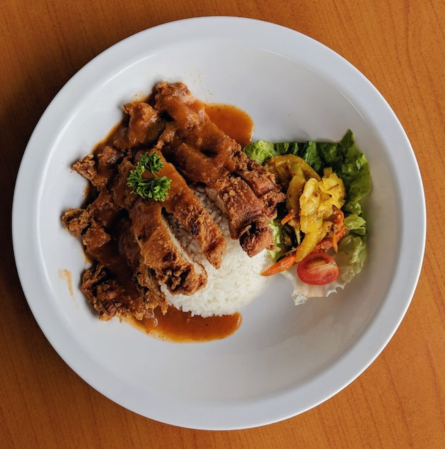 Chef Curry Rice Special - Crispy Chicken Cutlet ($5)