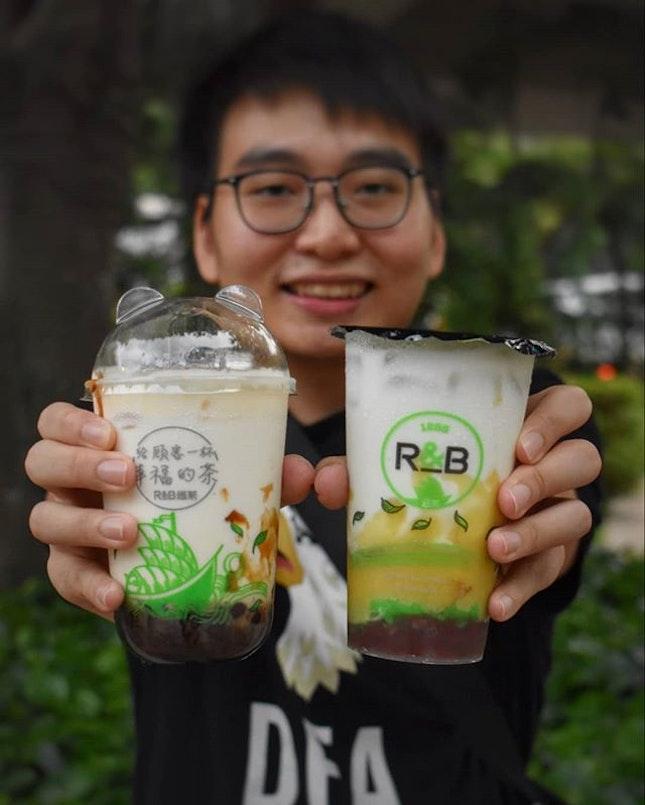 R&B Tea [𝙂𝙄𝙑𝙀𝘼𝙒𝘼𝙔] ⬇️ 给你一杯幸福的茶 ⬇️ .