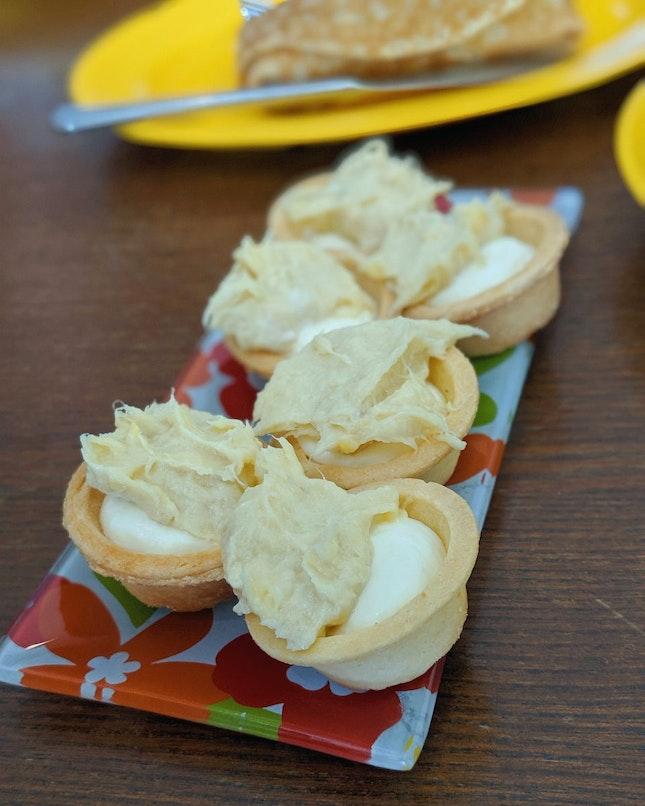 Durian Tart ($4.80)