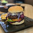 Lentil Mushroom Burger w/ Tahini Sauce ($11.90)