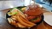 Salted Egg Yolk Chicken Burger $19++