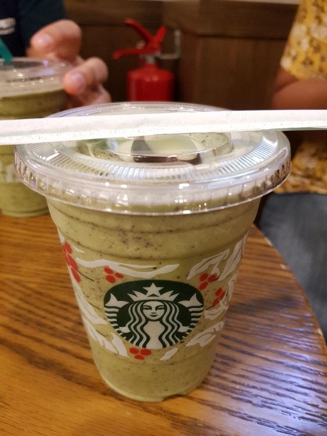 Green Tea Java Chip Frappuccino ($7.60)