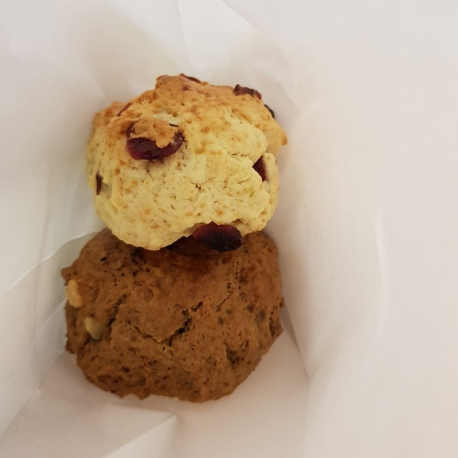 Cranberry Scone/Coffee Walnut Scone ($2 Each)