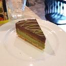 Matcha Opera Cake $7.90