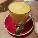 Turmeric Honey Latte $5.50
