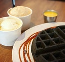 Charcoal waffle!