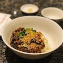 Mushroom minced meat noodles ❤️👍🏼 #dintaifungsg #特香香菇面 #lunch