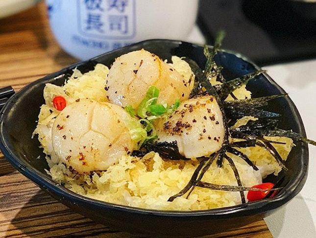 Scallop mini rice ❤️🍥 #itachosushisg
