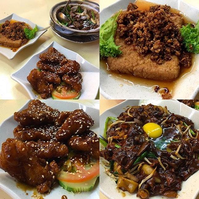 Keng Eng Kee Seafood Restaurant's Moon Light Hor Fun, Cui Xiang Tofu, Claypot Liver and Coffee Pork Ribs #ieatishootipost#hungrygowhere#instafood#foodporn#Rocasia#iweeklyfood#yummy#instagram#8days_eat#theteddybearman#eatoutsg#whati8today#yummy#eatoutsg#foodforfoodie#vscofood#igfoodie#eatingout#eatstagram#sgfood#foodie#foodstagram#SingaporeInsiders#sg50#100happydays#burpple#eatbooksg#burpplesg#kengengkee
