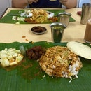 Banana Leaf Rice!