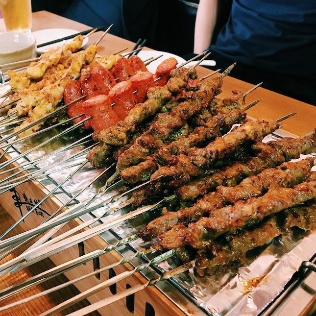 Chinese BBQ Skewers