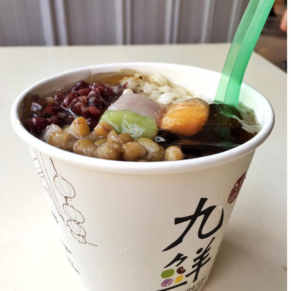 Chinese Vegetarian Hawker Food