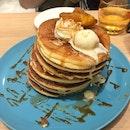 Grilled Apple Pancake