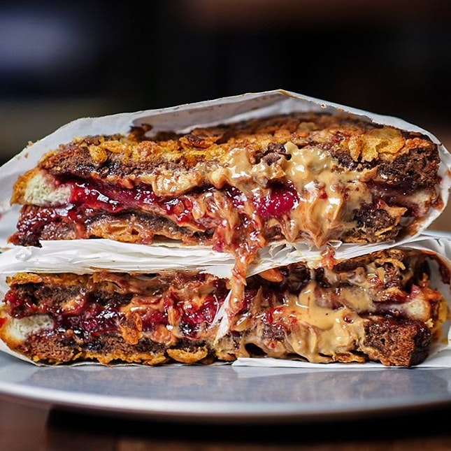 """""""No one else does PB&Jam like @parkbenchdeli"""" - quoting exactly what @juliuslim said, because I totally agreed with it!!!"""