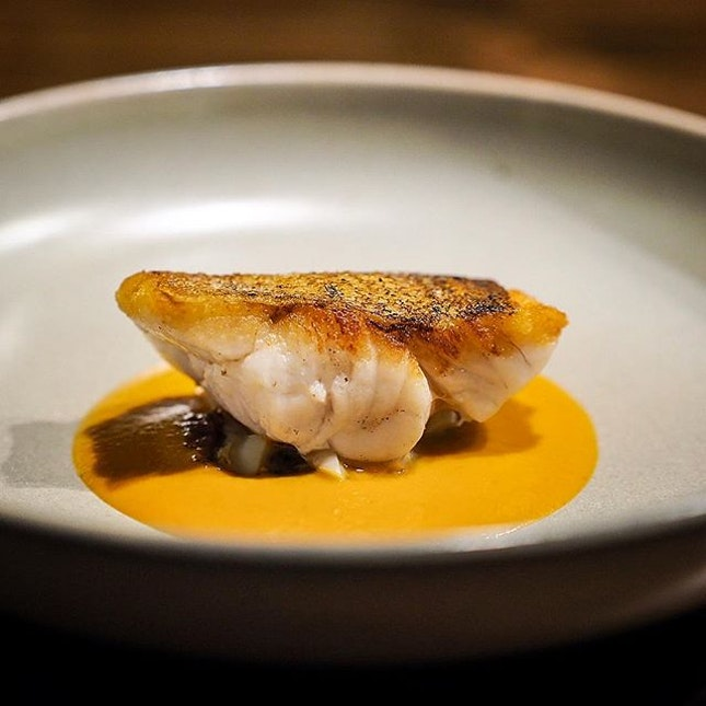 Another amazing fish dish by @metasingapore.