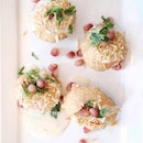 Tantalise your palate with this light starter - dahi puri (S$6.90), a popular snack originated from Mumbai.