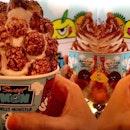 Sweet Monster Popcorn Ice Cream Korea