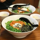 Nagoya Style Dry Ramen [S$12.75] ・ Spicy minced pork with soft boiled egg, seaweed and lots of spring onions.