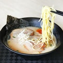 Hakata Ramen [S$6.50] ・ Affordable quick fix for ramen cravings from Wakon Ramen.