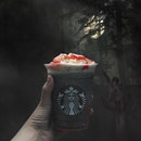 Zombie Frappuccino [S$7.90] ・ The night is young and I'm up to try @StarbucksSG's Halloween special drink.
