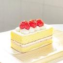 Three Fraise Cake [S$5.10] ・ Happy Birthday everyone!🥳 (人日) Had a sweet mini celebration with @Chateraise.Singapore's strawberry cake❤️ ・ #Burpple #FoodieGohSengKang ・ ・ ・ ・ ・ #instadailyphoto #photooftheday #followme #follow #instadaily #food #foodstagram #foodgasm #sgfoodies #sgfoodie #dailyinsta #foodsg #singaporefood #whati8today #sgfoodporn #eatoutsg #8dayseat #singaporeinsiders #singaporeeats #sgfoodtrend #sgigfoodie #thisisinsiderfood #foodinsingapore #foodinsing #dessert #cake #strawberries