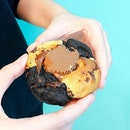 Reese Cup Cookie [S$4.90] ・ @NastyCookiee finally has a physical store and it's at @FunanSG!😍 Had the extremely sinful Reese Cup cookie with Nutella filling and it's sweetly good♥︎ Fellow sweet tooths gonna this love too!