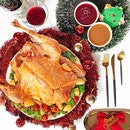 Christmas Eve celebration with @ParkRoyalBeachRoad's traditional whole roast turkey with cranberries and pan jus🦃 Hope you guys have a wonderful Christmas too🎄 ・ 7500 Beach Rd Singapore 199591 ・ Thanks @ParkRoyalBeachRoad for the yummy treat!