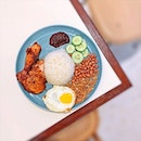 Nasi Lemak Ayam Goreng Berempah [S$12.80] ・ When I want to treat myself or celebrate TGIF, @TheCoconutClubSG is one of my favourite places to go, along with my usual order💕 ・ 28 Ann Siang Rd Singapore 069708 ・ #Burpple #FoodieGohChinatown ・ ・ ・ ・ #foodietribe #tslmakan #instafood_sg #yummy #foodstagram #foodgasm #sgfoodies #sgfoodie #foodsg #singaporefood #whati8today #sgfoodporn #eatoutsg #8dayseat #singaporeinsiders #singaporeeats #sgfoodtrend #sgigfoodie #thisisinsiderfood #foodinsingapore #foodinsing #nasilemak #rice #chicken