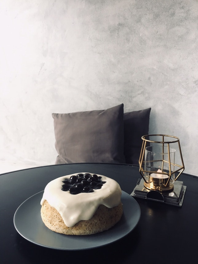 """Earl Grey Bubble Tea Cake (5"""" RM25)"""