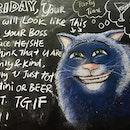 Finally Friday 👻👻👻 @bill8cafe  #TGIF #friday #fridaynight #weekend #partytime #wine #beer #martini #chalkboard #chalkboardwall #art #artwork #sgcafe #exploresingapore #burpple #burpplesg #sgig #igsg