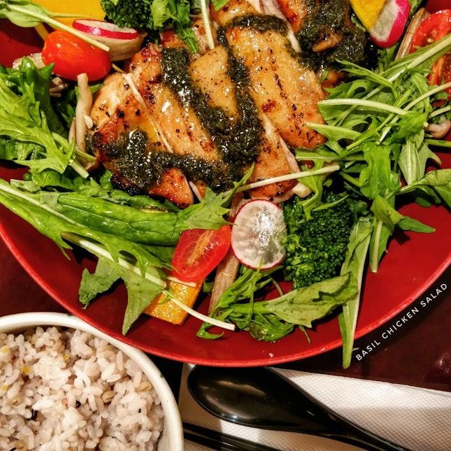 Basil Chicken Salad Set ($18.30)
