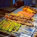 Skewers of Sorts @ BBQ Box 串燒工坊 🍢 : : #singapore #sg #igsg #sgig #sgfood #sgfoodies #food #foodie #foodies #burpple #burpplesg #foodporn #foodpornsg #instafood #gourmet #foodstagram #yummy #yum #foodphotography #weekend #dinner #bbq #bugis #bbqbox #meat #skewers #spice #chinesefood