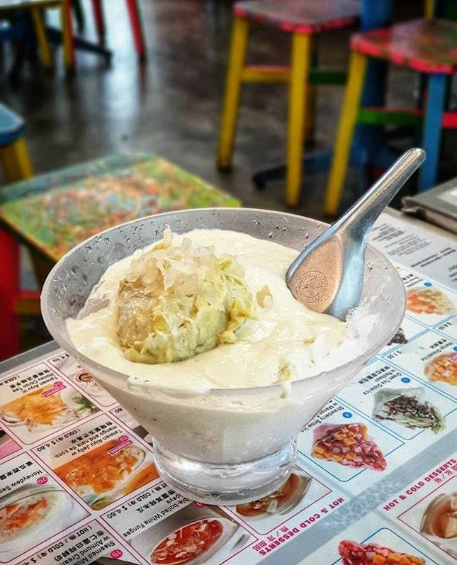 Durian Sago with Pomelo 榴莲西米露 🤤 @ Dessert First 糖水先 : : #singapore #sg #igsg #sgig #sgfood #sgfoodies #food #foodie #foodies #burpple #burpplesg #foodporn #foodpornsg #instafood #gourmet #foodstagram #yummy #yum #foodphotography #weekend #liangseahstreet #dessert #durian #sago #pomelo #ice #sweet #fruit #榴莲 #dessertfirst