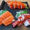 Mine, All Mine 🤤 : : #singapore #sg #igsg #sgig #sgfood #sgfoodies #food #foodie #foodies #burpple #burpplesg #foodporn #foodpornsg #instafood #gourmet #foodstagram #yummy #yum #foodphotography #sashimi #salmon #octopus #sushi #raw #dinner #weekend #cravings