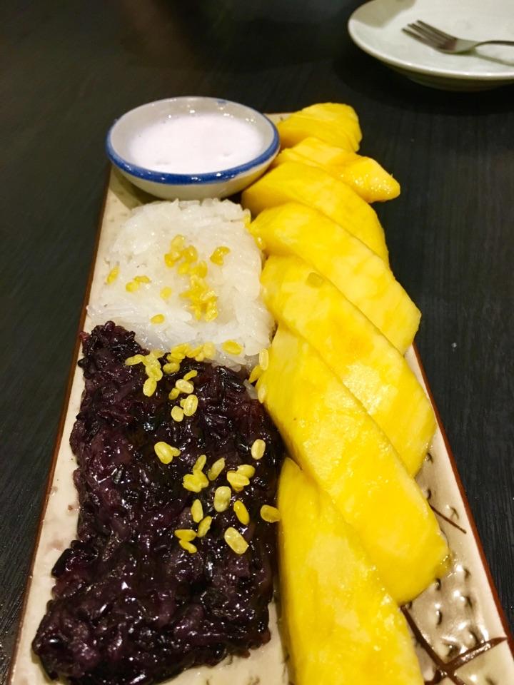 Mango Sticky Rice $7.90