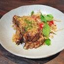 Pork Ribs With Thai Papaya Salad