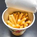 Cod roe flavoured potato sticks !