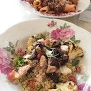 Grilled Chicken & Cauliflower Quinoa ($16)