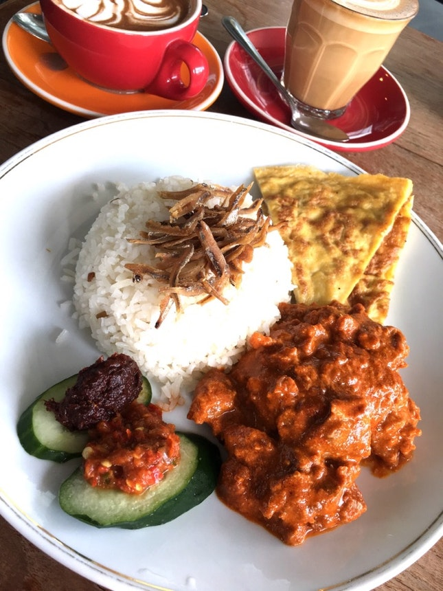 Very Decent Nasi Lemak... From A Cafe!