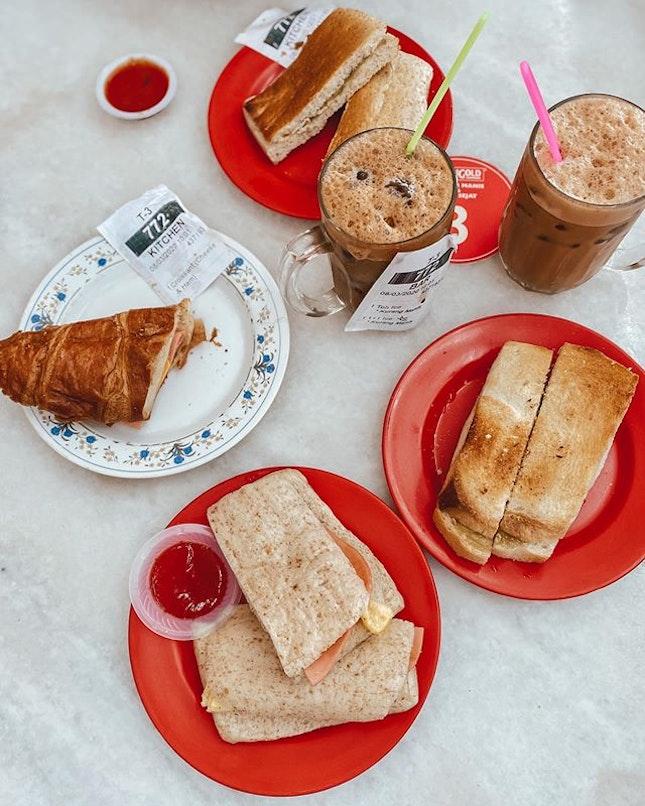 Truly truly a Malaysian breakfast affair.