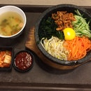 Hotstone Bibimbap with Chicken Bulgogi
